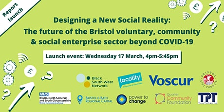 Designing a New Social Reality: Future of the VCSE Sector Beyond COVID-19 tickets