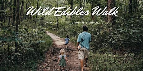 Wild Edibles Walk tickets