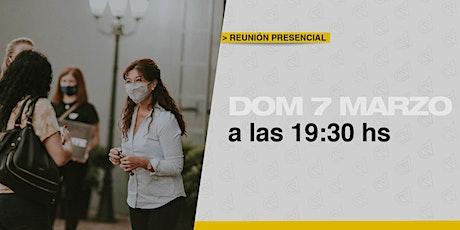 Reunión Presencial en Caudal de Vida- Domingo  07/3  19:30 hs entradas
