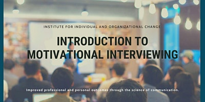 Introduction to Motivational Interviewing with John Gilbert