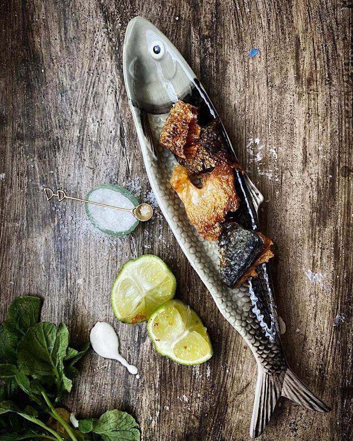 BAJA  STYLE FISH TACOS image