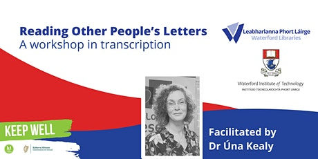 Reading other people's letters: A workshop in transcription tickets