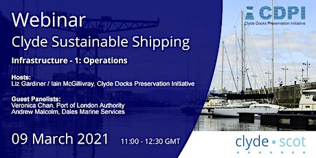 Clyde Sustainable Shipping Webinar 2 tickets
