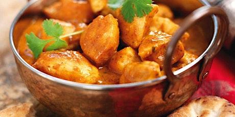 Livestream Online Cookery Class - Cosmopolitan Indian Fakeaway tickets