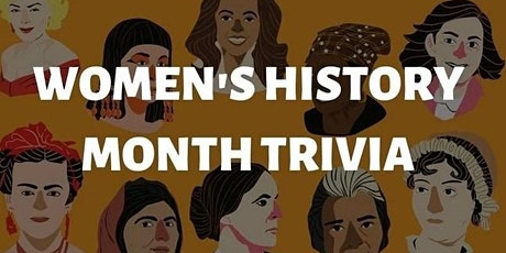 Trivia Tuesday's Women's History Month Edition tickets