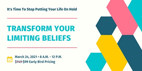 Transform Your Limiting Beliefs Course tickets