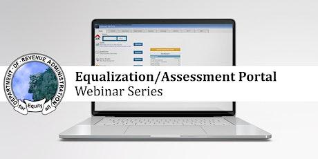 Equalization Portal: MS-1 Valuation Report Webinar tickets