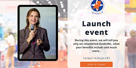 Guide2NL online launch event tickets
