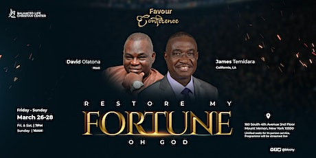 Favour Conference - Restore My Fortune Oh God tickets