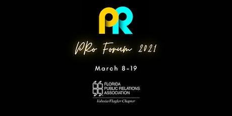 PRo Forum 2021 - Student registrations tickets