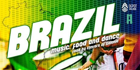 Brazil Music, Food and Dance tickets