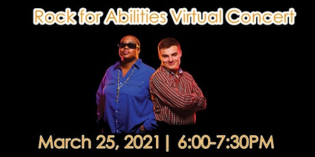 Rock for Abilities Flame Duo Virtual Concert tickets