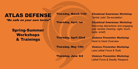Situational Awareness and Violence Prevention Webinar Series tickets