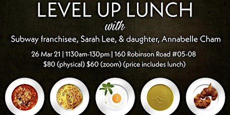 Level Up Lunch  26 Mar tickets