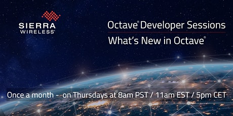 Octave What's New - Developer Session tickets