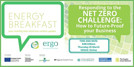 Responding to the Net Zero Challenge: How to Future-Proof your Business tickets