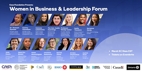 Women in Business and Leadership Forum tickets