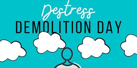 Destress Demolition Day tickets