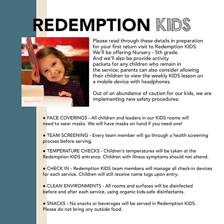 Weekend Services at Redemption image