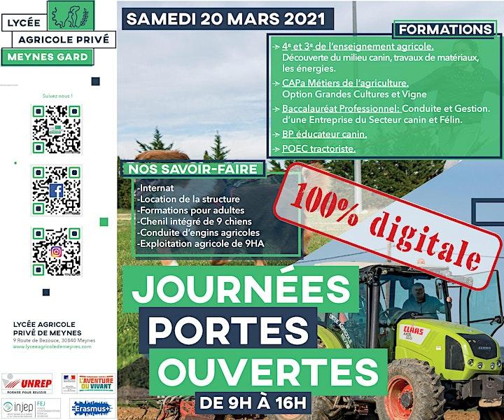 Image pour Journée Porte Ouverte du Lycée Agricole Privé Meynes - Gard