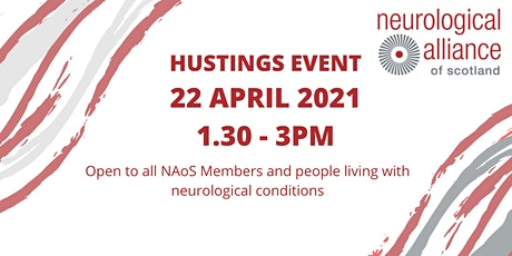 The Neurological Alliance of Scotland Holyrood Election Hustings tickets
