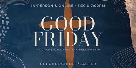4.2.21 | 5:30pm In-Person Good Friday Service tickets