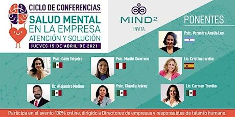 Salud Mental en la Empresa. Atención y Solución. Ciclo de conferencias. boletos