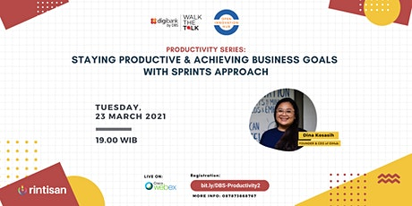 [FREE] Staying Productive & Achieving Business Goals with Sprints Approach tickets