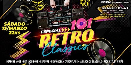 Show en vivo - Retro Classics, toda la musica de los 80's entradas