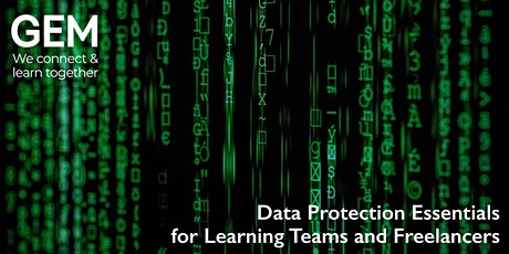 Data Protection Essentials for Learning Teams and Freelancers tickets