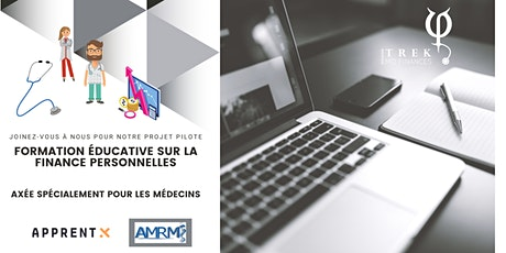 Formation éducative sur la finance personnelle - MD AMRM billets