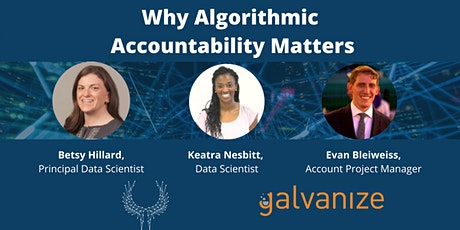 Why Algorithmic Accountability Matters tickets