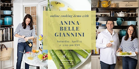 Journey to the French Riviera: Cooking Demo with Anina Belle Giannini boletos