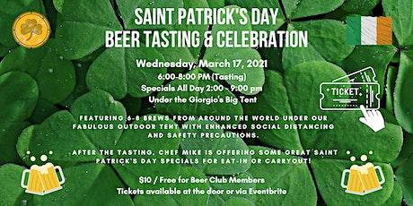 Saint Patrick's Day Beer Tasting tickets