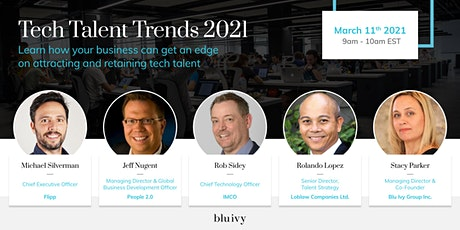 Tech Talent Trends 2021 tickets