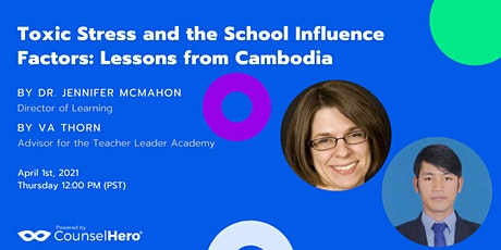 Toxic Stress and the School Influence Factors: Lessons from Cambodia tickets