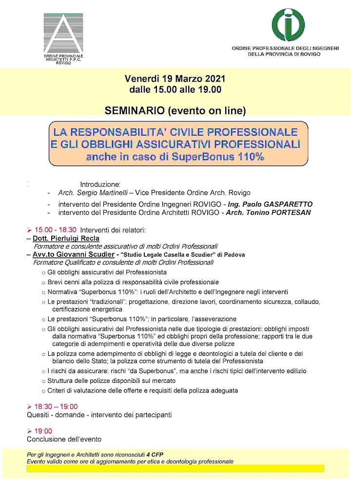Immagine LA RESPONSABILITA' CIVILE PROFESSIONALE  E GLI  OBBLIGHI .....