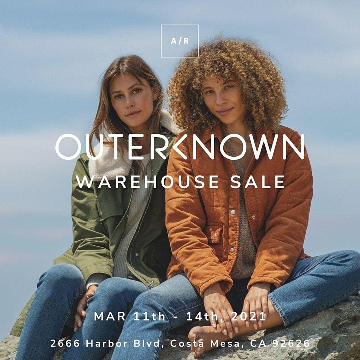 Outerknown  Warehouse Sale - Costa Mesa, CA image