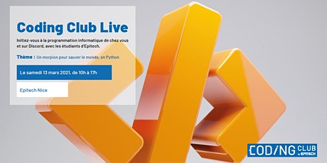 CODING CLUB LIVE {Nice} tickets