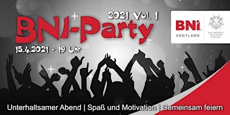 Die erste Party 2021 der BNi Region Vogtland Tickets