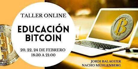 Curso de iniciación al  Bitcoin y las criptomonedas - 3ª promoción entradas
