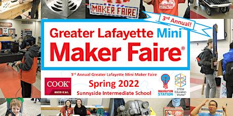Greater Lafayette Mini Maker Faire 2022 tickets
