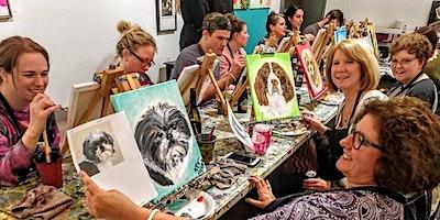 Missouri Pit Bull Rescue Fundraiser, Paint your Pet night