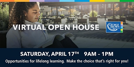 George Brown College Virtual Open House tickets