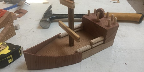 Make a Pirate Ship Age 8+ tickets