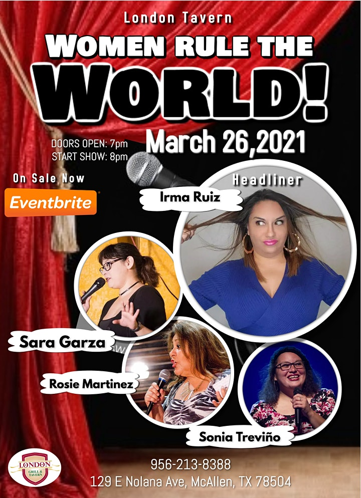 Women Rule The World Comedy Show image