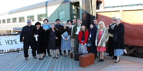 Murder on the Battle River Express tickets