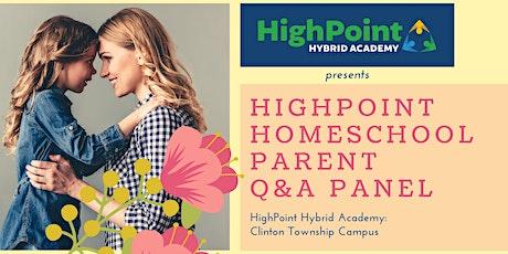 HighPoint Hybrid Homeschool Parent Q+A Panel 3/23 (Virtual Event) tickets
