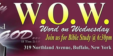 Tabernacle of Praise Word on Wednesday Bible Study tickets