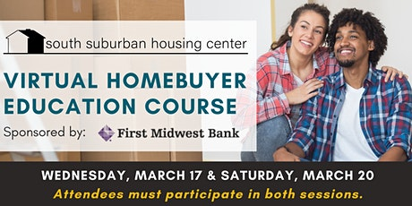 March Virtual Homebuyer Education Course tickets